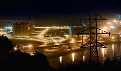 Progreso (galavardo) Tags: sony a7ii 55mm18 puerto elmusel gijón asturias españa spain noche nocturna night industria industry mirrorless