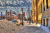 Bombogenisis: The day after. (Pearce Levrais Photography) Tags: bombogenisis bombcyclone noreaster cold winter hdr canon 7d markii city ice