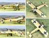 Fokker E.III Eindecker 1915 (Franclab) Tags: aviation maquette model 172 fokker eindecker