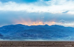Sun clouds and wind in the Valley (Photosuze) Tags: landscape clouds sun sky mountains dust deathvalley california desert storm