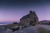 Dusk at the Church of the good Sheperd (Tim Bow Photography) Tags: timbowphotography timboss81 welsh british sunset newzealand travelphotography laketekapo sun colour light discover adventure tekapo nz church religion churchofthegoodsheperd religiousbuilding