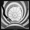 Guggenheim Lollipop (Ilan Shacham) Tags: abstract architecture swirl circle round bw blackandwhite skylight pattern concentric fineart fineartphotography guggenheim newyork ny nyc manhattan us usa