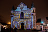 Polychromies - Eglise Notre-Dame la Grande - Poitiers (Giancarlo - Foto 4U) Tags: c2017 24120mm d850 giancarlofoto nikon notredame polychromies lagrande light lumière nuit poitiers église eglise la grande