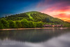 Luss Skyline (S Munir Photography) Tags: luss sunset skyline reflection water scotland tree mountain forest sky grass landscpe