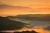 Alba sulla valle (Enrico Luzi) Tags: alba arancio civita bagnoregio viterbo