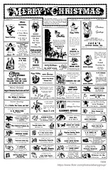 1959 small christmas ads (albany group archive) Tags: albany ny history 1959 small christmas ads associates professional telephone exchange college rose pearl yellow taxi real estate liuzzi worlds fair pizza west chemical american tavern gross service playdium howell coal empire nut dott garage twentieth century diner grill mikes restaurant avon sleasman hofbrau petit paris corbat tempel farnham red lion modern food gabrys marine united traction hague studio borden jacks oyster house henzel electric 1950s old historical vintage picture photo photograph