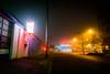 George's Body Shop, foggy (colink.) Tags: falsecreek vancouverwandering foggy