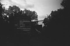 abandoned train tunnels / (luustra) Tags: white black ql ft canon 50 plus panf ilford