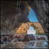 breaktrough (marke59) Tags: xt2 reise urlaub 2017 travel algarve holiday portugal cave sea meer mare