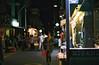 ... (june1777) Tags: snap street seoul bukchon night light bokeh konica autoreflex t hexanon ar 52mm f18 fuji superia xtra 400