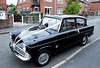 Lady Penelope (Bringing the past to the modern) Tags: ford anglia 105e wedding classic car british baby photograph photo 1960s retro vintage old school posh cars ribbon