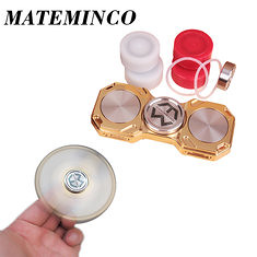 MATEMINCO FLAME EDC Hand Spinner Ultimate 8 min 40s Rotating 4 LED Modes CNC Process Germany Silicon Carbide Hybrid Bearings Fingertips Spiral (1146997) #Banggood