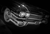 MOTORFEST '17 (Dave GRR) Tags: car auto vehicle vintage classic antique black white monochrome chrome wheel rim front hood cadillac eldorado show motorfest canada 2017 omd olympus em1 1240