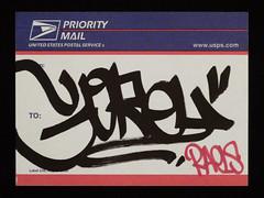 Gorey (Alex Ellison) Tags: gorey usps prioritymail label sticker carnagenyc 228 postallabel newyork usa nyc collection urban graffiti graff boobs