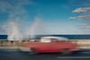 La Habana. (Adolfo Rozenfeld) Tags: slowshutter mar cielo ocean nubes street cuba sky havana malecón lahabana sea clouds
