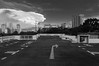 Epic Cloud (OzGFK) Tags: asia singapore clouds urban carpark cityscape skyline bw monochrome blackandwhite rooftop nikond90 tokina tokina1116 sunset evening dusk twilight nature weather