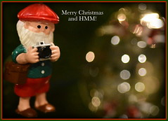Macro Mondays - Bokeh (Say Cheese) (zendt66) Tags: zendt66 zendt nikon d7200 nikkor 60mm macromondays memberschoicebokeh macro monday mondays bokeh christmas santa claus greeting