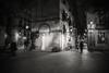 Night in city..... (Dafydd Penguin) Tags: barri gotic barcelona spain catalunya catalonia mediterranean street shot scene raw life urban city district quarter people candid blackandwhite balckwhite black white mono monochrome noir after dark night shots nighthawks nikon df nikkor 20mm af f28d