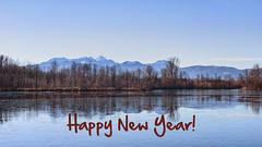 Happy New Year (blichb) Tags: 2017 bayern deutschland happing happingerausee rosenheim rosenheimerland see sonya7rii blichb winter berge alpen spiegelung