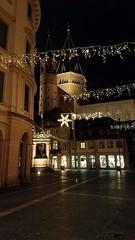 Happy New Year! (grinnin1110) Tags: christmas de deutschland dom domsanktmartin europe germany landeshauptstadt lights mainz marketfountain markt marktbrunnen newyearseve rheinlandpfalz rhinelandpalatinate stmartinscathedral weihnachten night outdoors