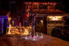 DSC_0560 (Copy) (pandjt) Tags: ottawa orlèans on ontario taffylane christmas christmaslights christmasseason christmasspirit lights lighting nightphotography night ledlights ledlighting house colours colors decorations winterscenic winter winterphotography