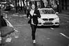 Fashionable (toletoletole (www.levold.de/photosphere)) Tags: cologne fuji fujixt2 köln marathon xf90mm sw bw street people portrait porträt sport läufer runner