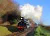 Milepost 56 (Treflyn) Tags: br british railways standard class 4mt 260 mogul steam ropley milepost 56 midhants railway watercress line matt allen warwick falconer photo charter 76017