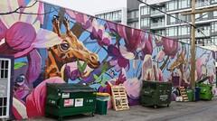 Back of 152 East 8th Avenue (Mariko Ishikawa) Tags: canada britishcolumbia vancouver mountpleasant mural art streetart publicart