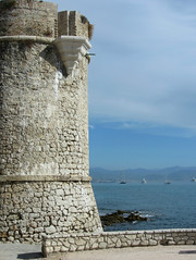 Antibes, France (Nigel L Baker) Tags: castle antibes sea riviera