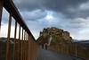 Civita_lightfromtheclouds (moniq84) Tags: civita bagnoregio town that die clouds light bridge lazio italia italy cloudy winter people stone viterbo