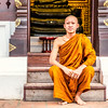 Monk Student (Anthony Gehin) Tags: monk moine student chiang mai wat chedi luang school temple