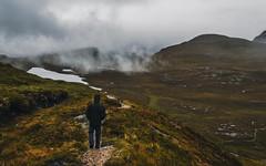 Around Ullapool (davidsedlacek) Tags: highlands walkhighlands scotland tranquility tranquilscene tranquil exploremore explore nature mountains landscape view grass clouds knockancrag