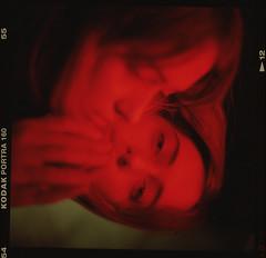 Lili (Stefan Botnari) Tags: film kodak portra 160 medium format 6x6 analogue kiev88 kiev 88 volnna 3 80mm 28 tetenal c41 kit developer 9000f mark 2 canoscan portrait red blood