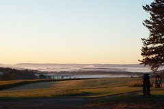 FOGGY MORNING NEAR MILAN, PENNSYLVANIA (fstopfinatic) Tags: silky dreamy overlook scene graceful misty calm fog outdoor serene pennsylvania mountains