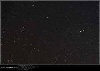 comet C-2016 R2 Panstarrs_EOS350d-Megrez72_20171218