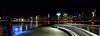 Muelle / Pier (López Pablo) Tags: night panorama pier river hudson manhattan new york nikon d7200 urban skyscraper building