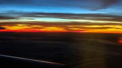 Going Home Flight 14 September 2007 (3) (BaggieWeave) Tags: switzerland2007 sunset