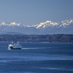 Ferry on Puget Sound thumbnail