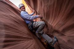 christopher stemming (Sam Scholes) Tags: redrockcountry utah robbersroostwilderness slotcanyon southernutah neverstopexploring getinthewildadventures exploring canyoneering canyoncountry dirtydevil christopherhagedorn hanksville