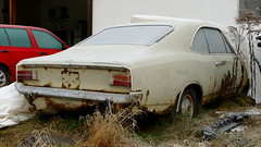 Opel Rekord C Coupe (vwcorrado89) Tags: opel rekord c coupe 1900 l rusty rust wreck abandoned