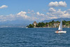 Yvoire from Lake Leman (daveconnor42) Tags: leman lake geneva yvoire switzerland yacht