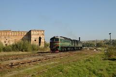 2M62 in Stare Selo (berlinger) Tags: stareseloстаресело lvivoblast ukraine 2m62 ukrainian railways uz укрзалізниця ukrzaliznytsia castle