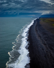 Halfway (corey_layman) Tags: iceland nature explore outdoors beach black camping backpacking hiking canon dslr