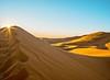 Sunrise in the desert (missfisher') Tags: sahara morocco desert dunes sunrise