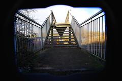 The Railway Overbridge.. (marcus.45111) Tags: woodburnjn northernrail class142 dmu alternativerailwayphotography railwayoverbridge flickr flickruk canonrailwayphotography canondslr 2017