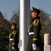 On Guard (█ Slices of Light █▀ ▀ ▀) Tags: army soldier flag post 天安門廣場 tiananmen square 天安门 beijing 北京 china 中国 panasonic lumix zs100 tz100 crop 中國