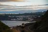 Sea Wall Sunset (Northern156) Tags: gwr greatwesternrailway class 43 hst 43021 43145 dawlish sea wall 1c89 london paddington penzance devon