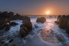 Circeo (DABMARCO www.marcodabbruzzi.com) Tags: circeo punta rossa costa mare sunset tramonto longexposure sea seascape