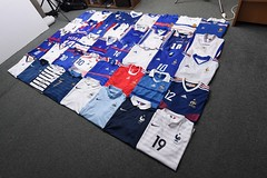 France Football France Shirt Collection (iptings) Tags: france fff platini papin cantona ginola desailly decamps petit veira henry benzema pogba mbappe griezmann ribery adidas nike