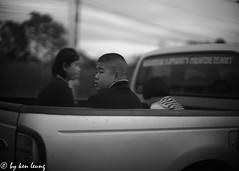 untitled (~kenlwc) Tags: people street thailand chiangmai sonya7r f11 7artisans50mmf11 kenlwc kenleung car public blackwhite monochrome bw